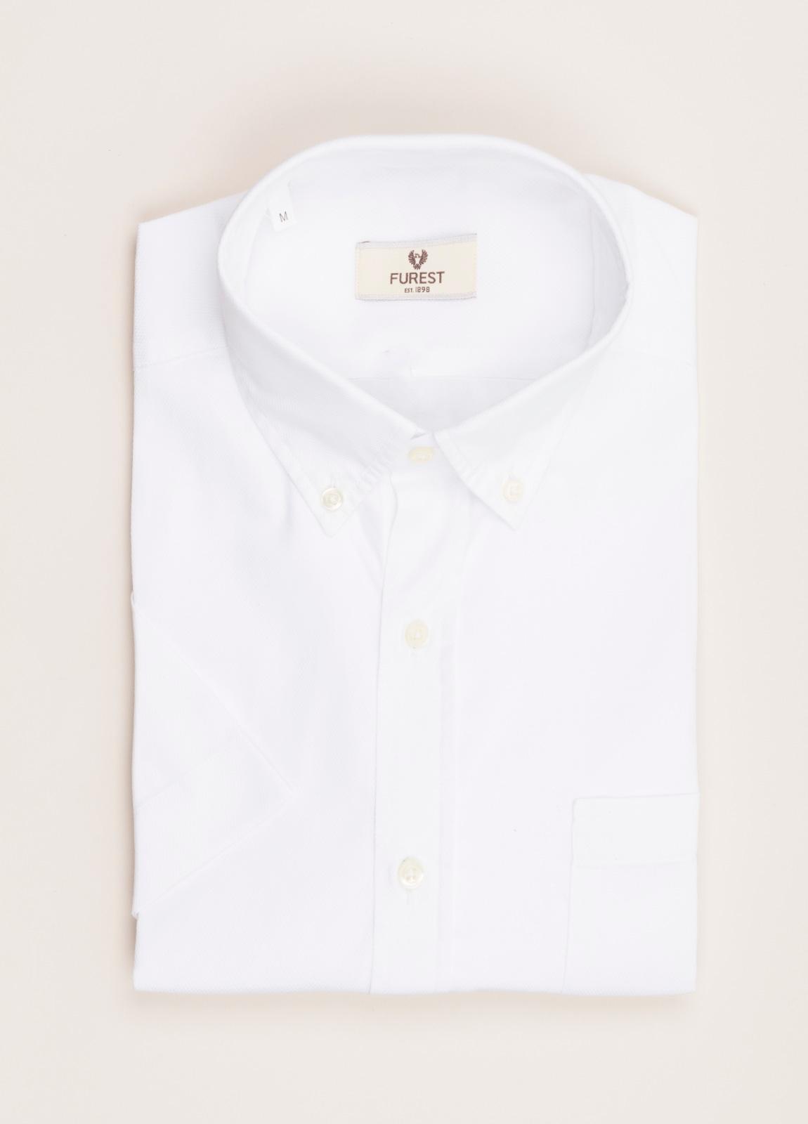 Camisa M/Corta sport FUREST COLECCIÓN Regular FIT blanco