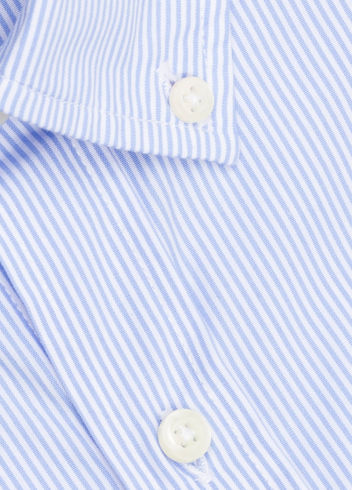Camisa M/Corta sport FUREST COLECCIÓN Regular FIT raya celeste - Ítem1