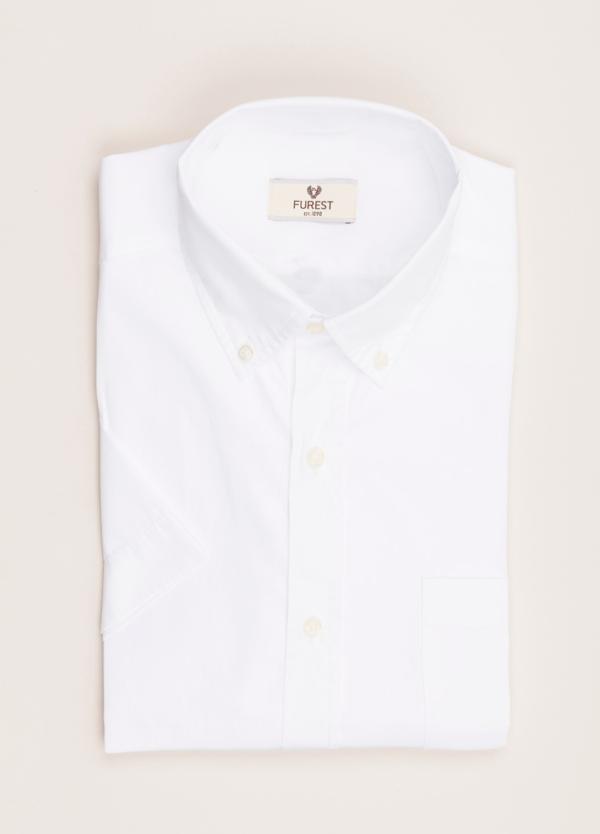 Camisa M/Corta sport FUREST COLECCIÓN Regular FIT algodón blanco