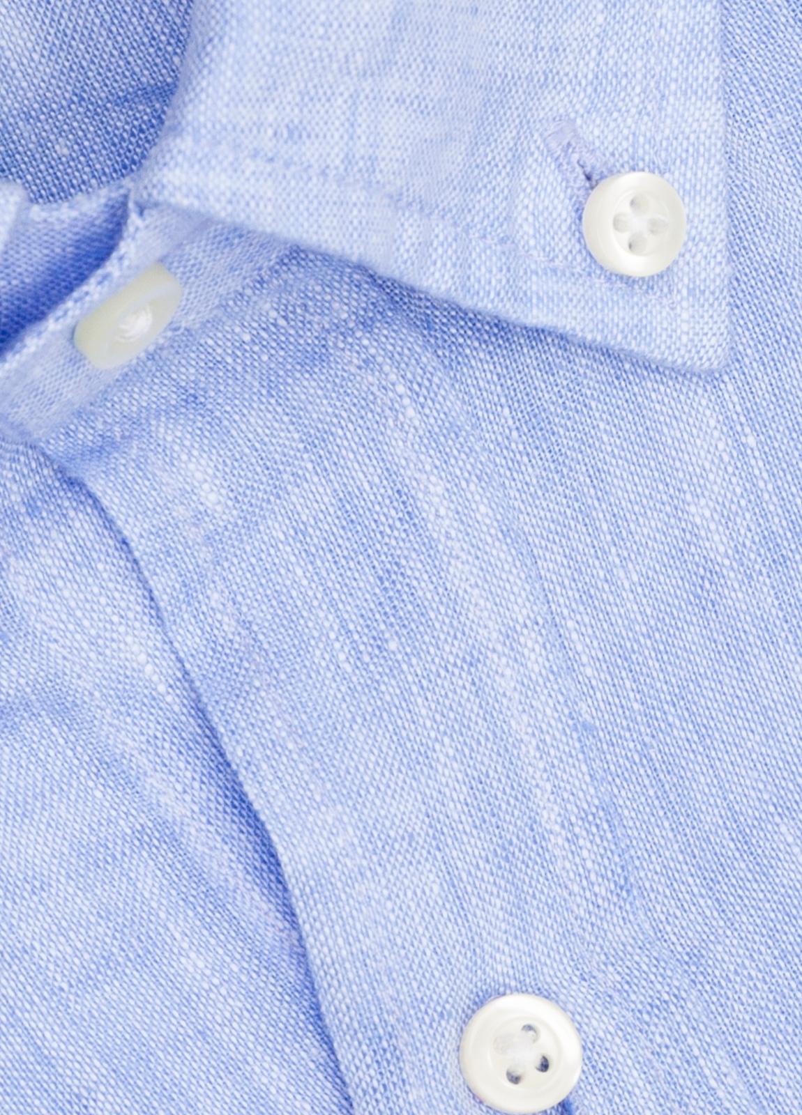Camisa M/Corta sport FUREST COLECCIÓN Regular FIT Lino azul - Ítem1