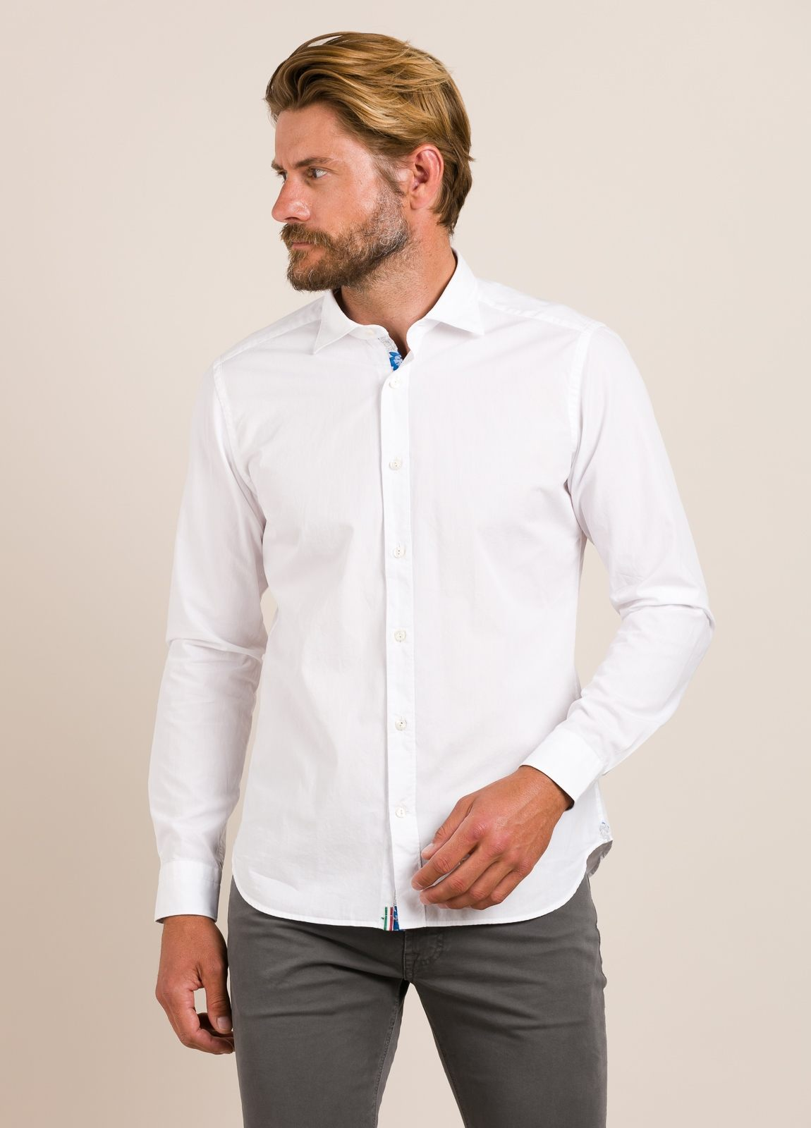 Camisa sport TINTORIA MATEI blanco