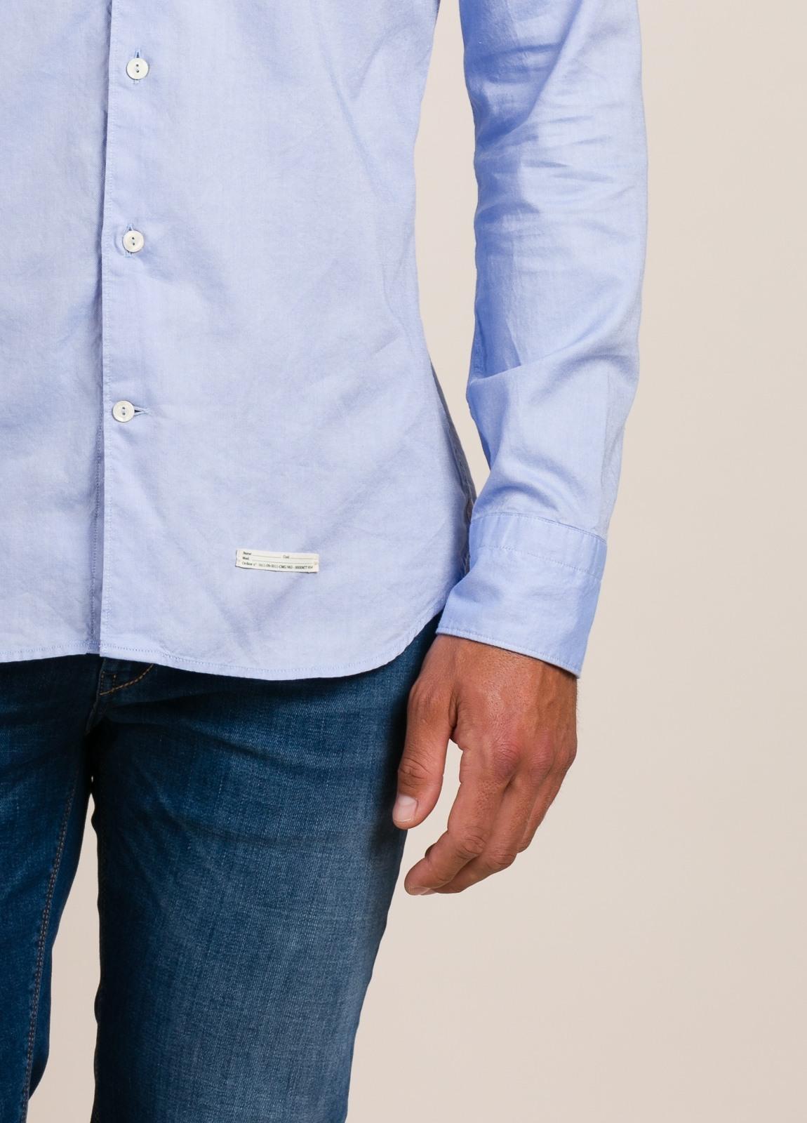 Camisa sport TINTORIA MATEI celeste - Ítem2