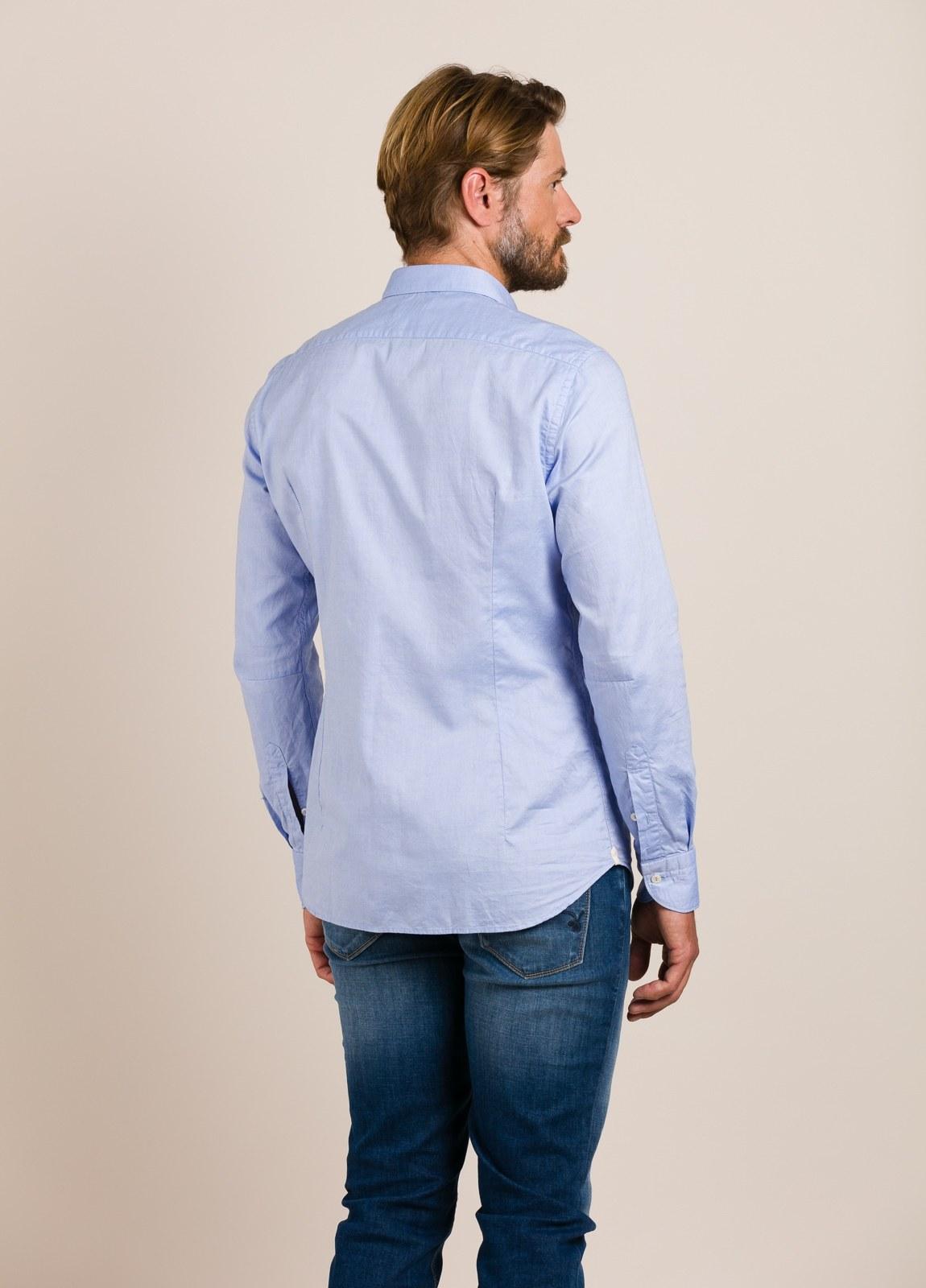 Camisa sport TINTORIA MATEI celeste - Ítem1
