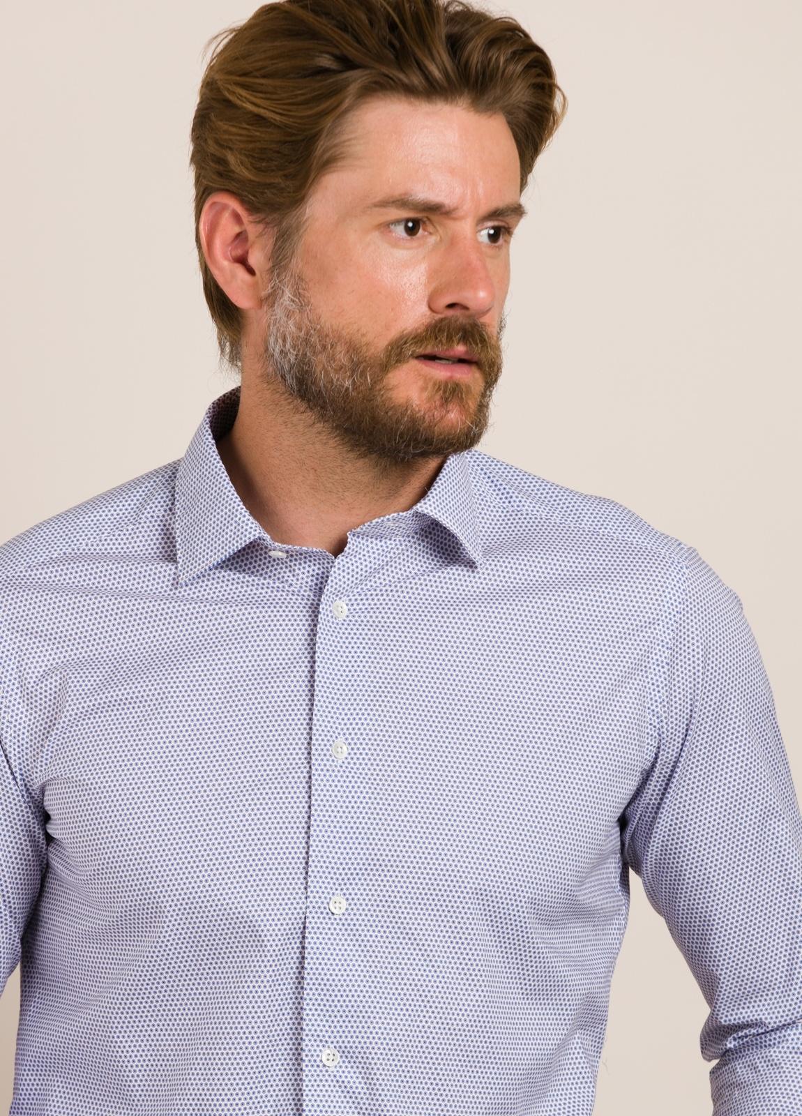 Camisa sport ROBERT FRIEDMAN dibujo geométrico - Ítem2