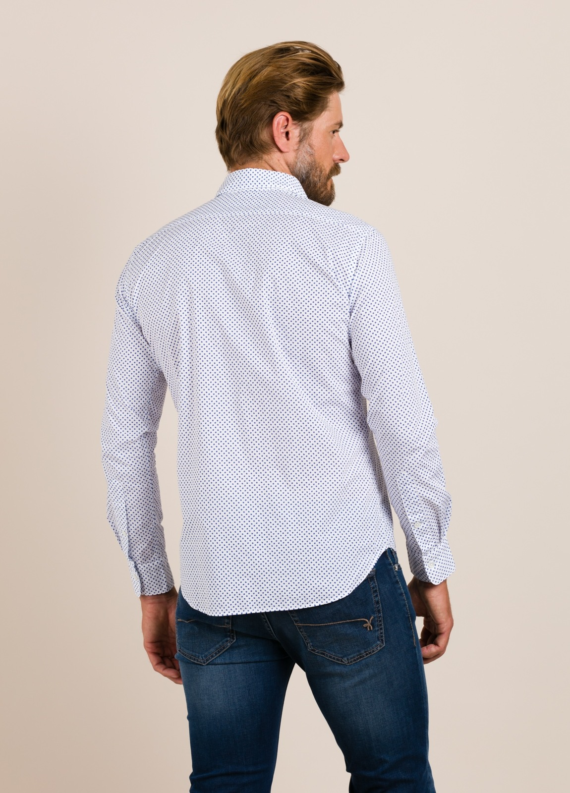 Camisa sport ROBERT FRIEDMAN estrellas - Ítem2