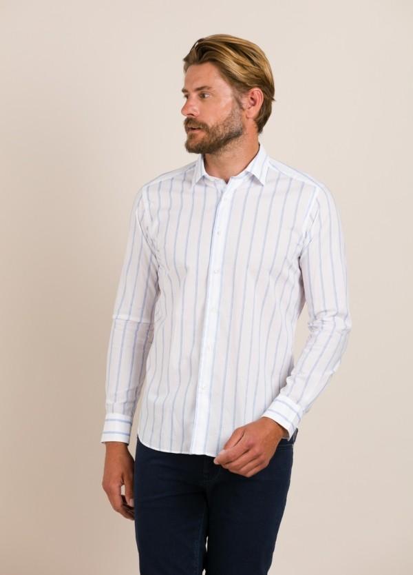 Camisa sport ROBERT FRIEDMAN rayas