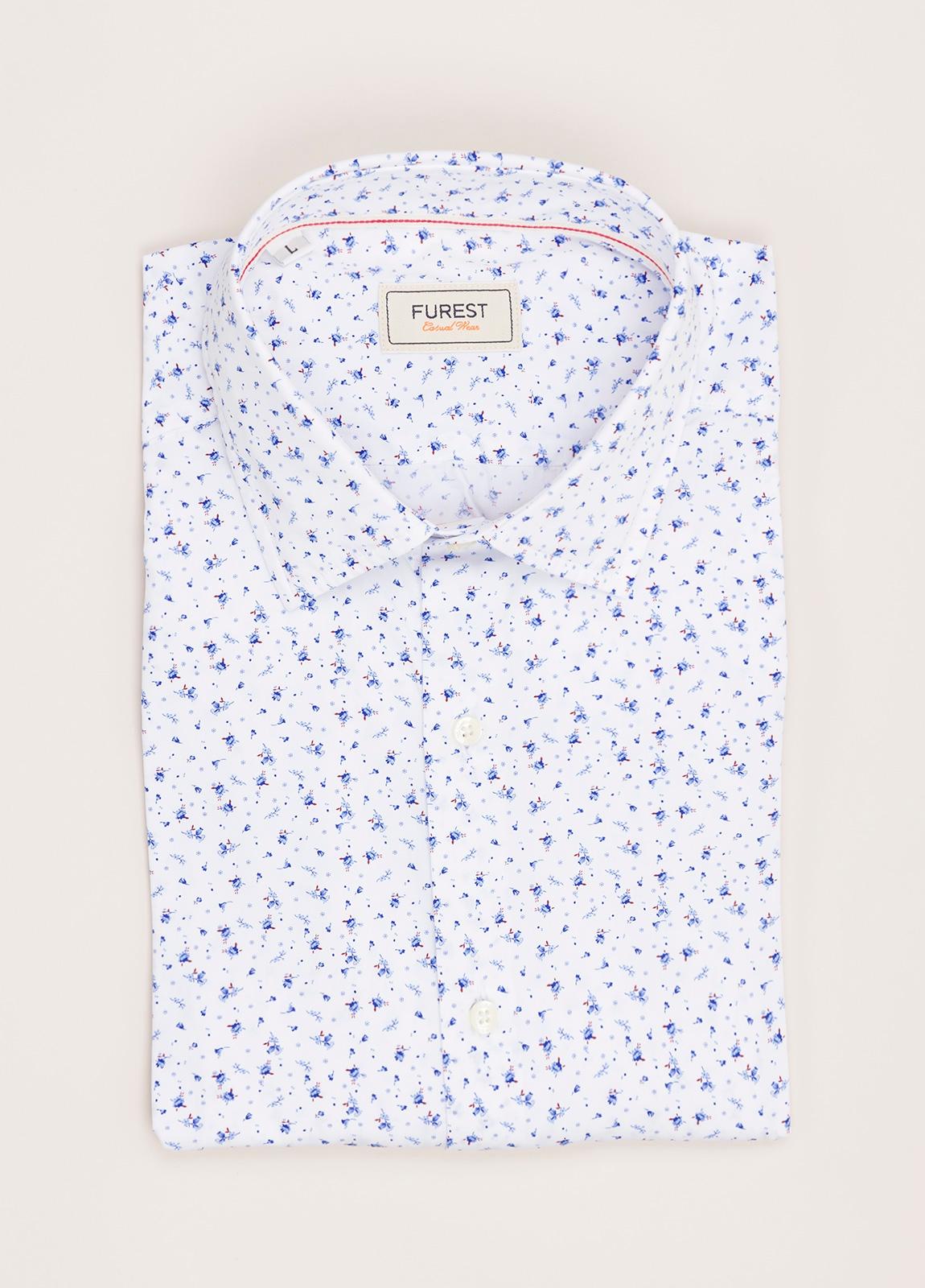 Camisa Casual Wear FUREST COLECCIÓN slim fit estampado