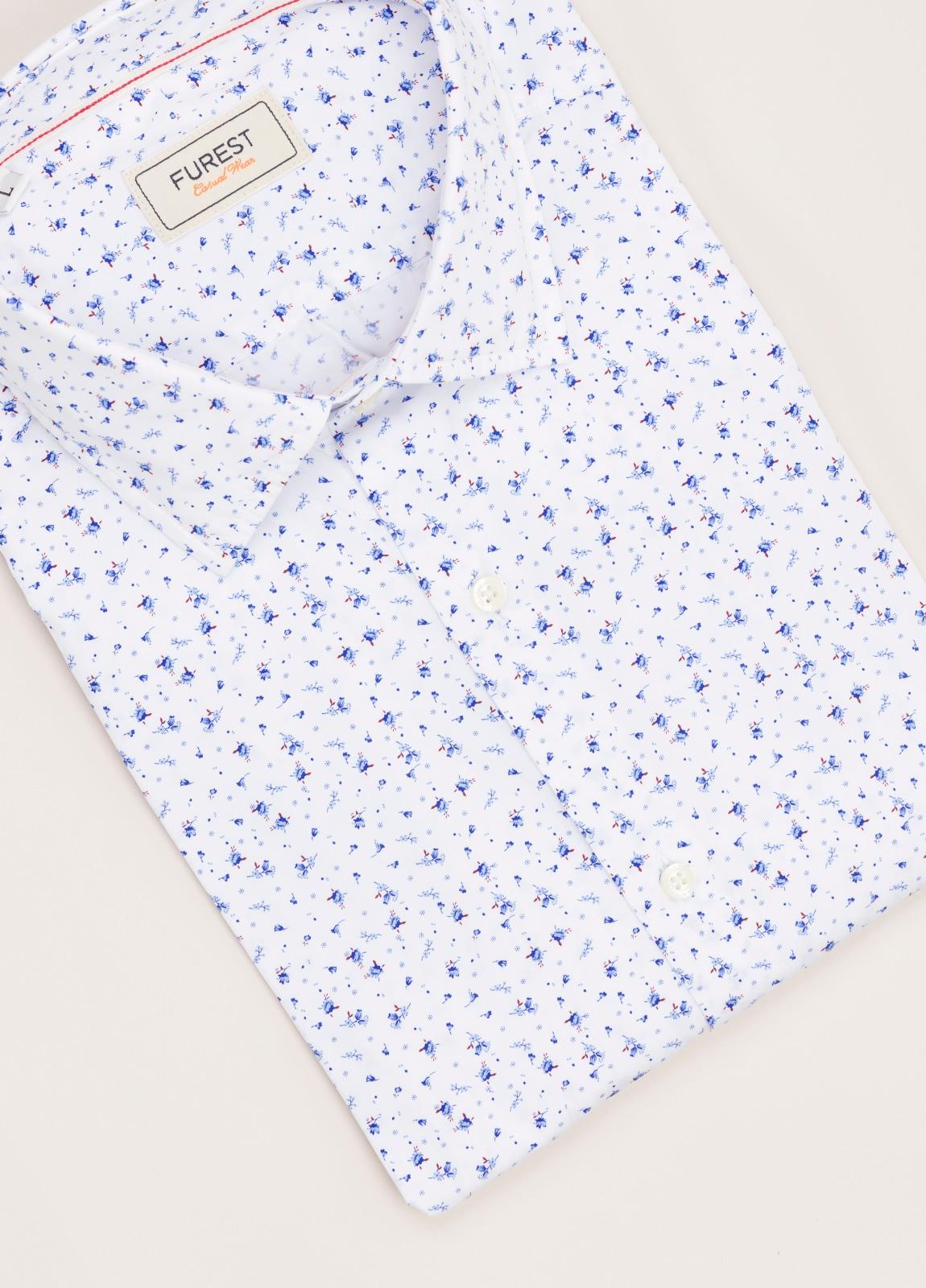 Camisa Casual Wear FUREST COLECCIÓN slim fit estampado - Ítem2
