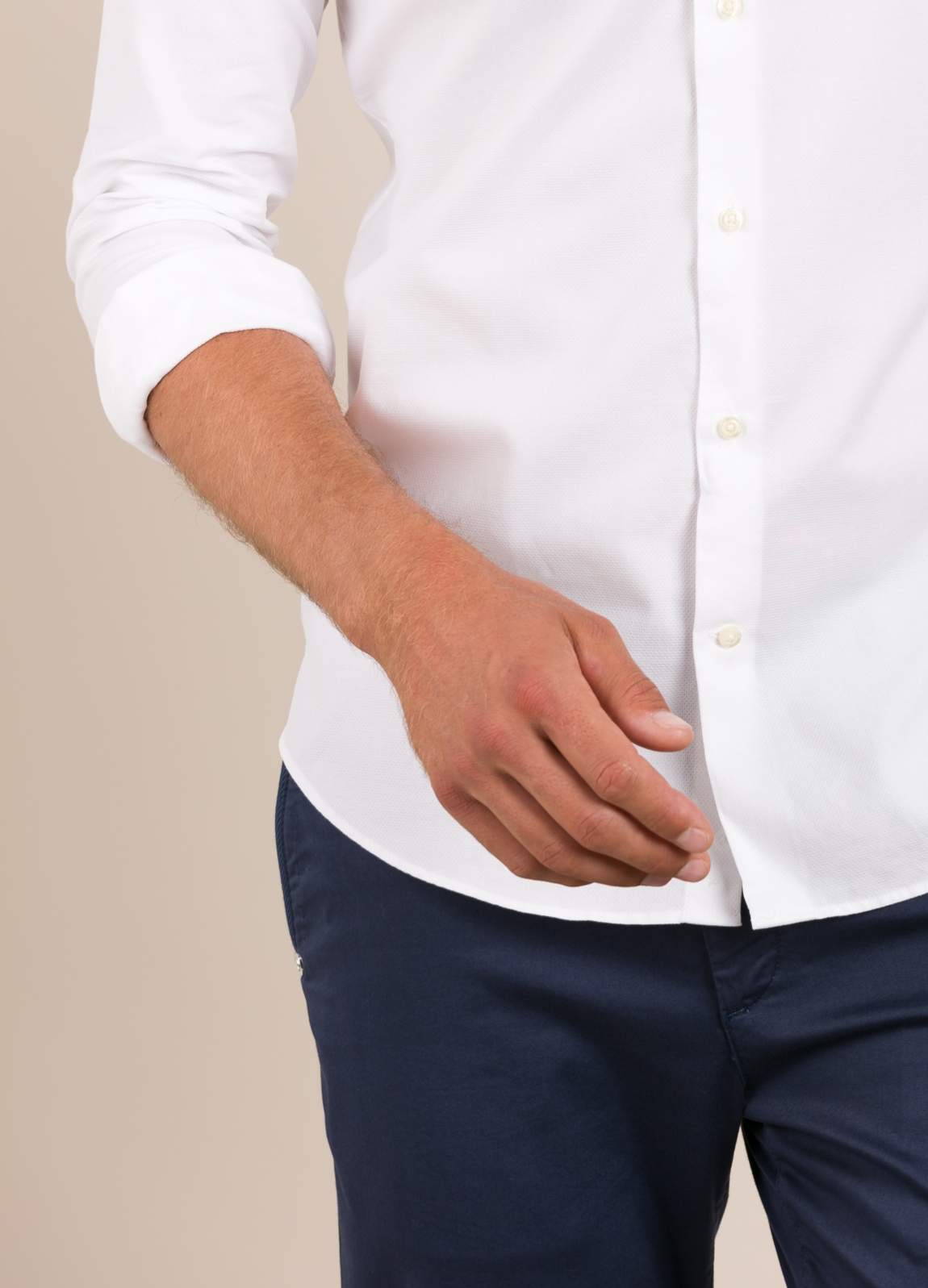 Camisa Casual Wear FUREST COLECCIÓN slim fit fil. - Ítem3