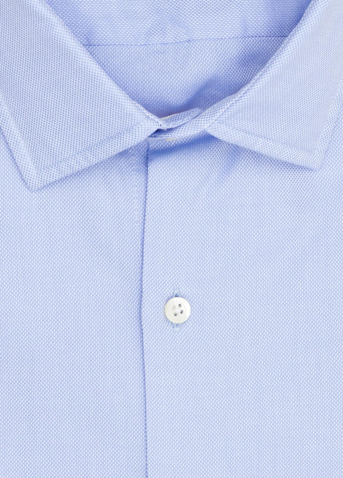 Camisa Casual Wear FUREST COLECCIÓN slim fit textura celeste - Ítem2