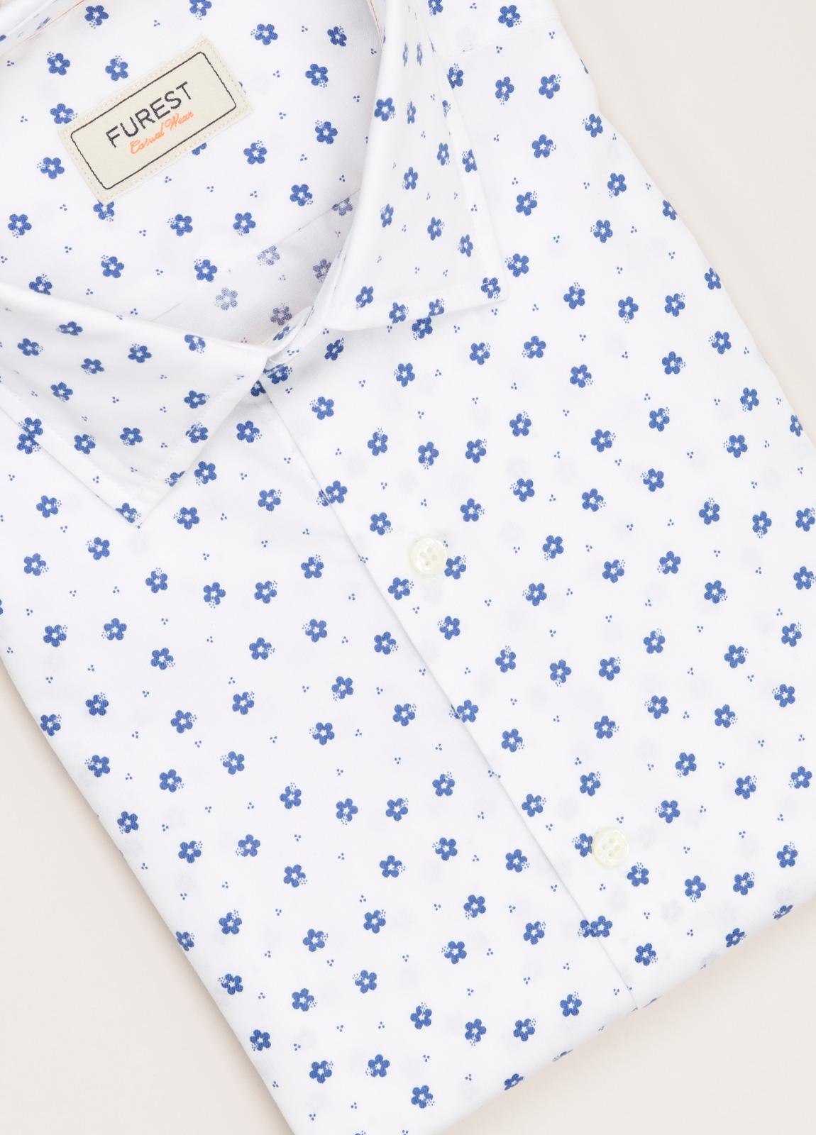 Camisa Casual Wear FUREST COLECCIÓN slim fit estampado flores - Ítem2