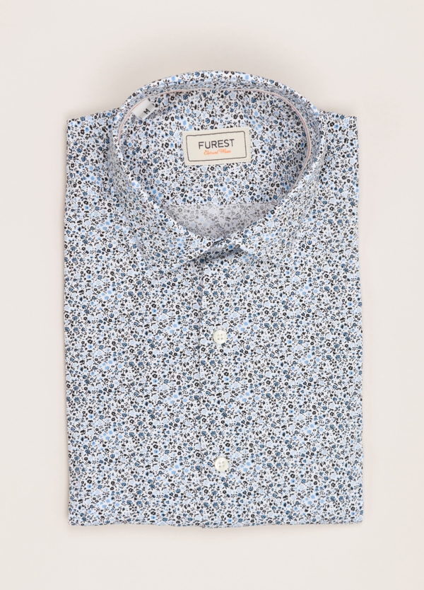 Camisa Casual Wear FUREST COLECCIÓN slim fit estampado flores