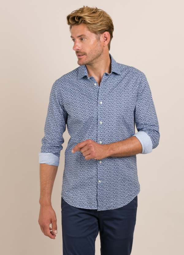 Camisa Casual Wear FUREST COLECCIÓN slim fit.