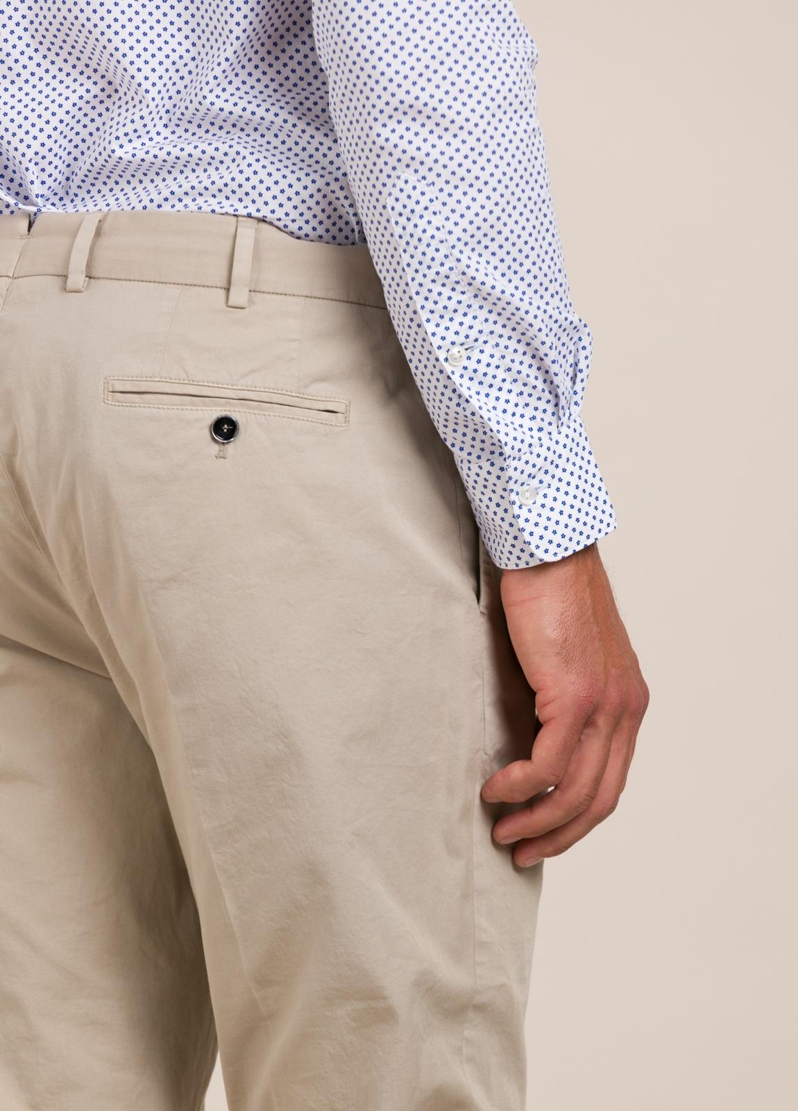 Pantalón chino FUREST COLECCIÓN Slim Fit beige - Ítem1