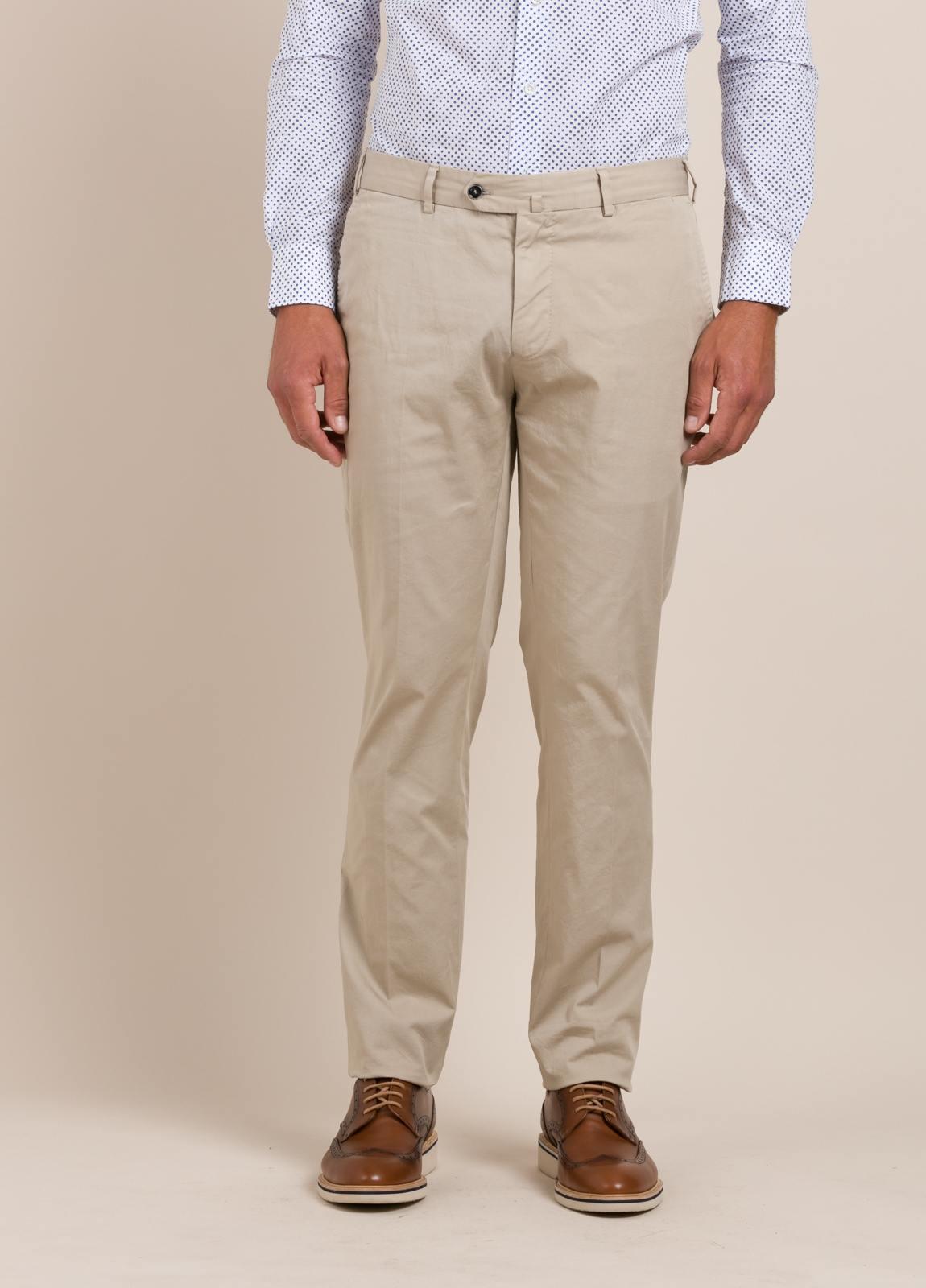 Pantalón chino FUREST COLECCIÓN Slim Fit beige