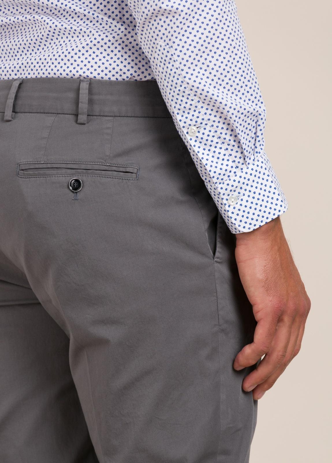Pantalón chino FUREST COLECCIÓN Slim Fit gris - Ítem1