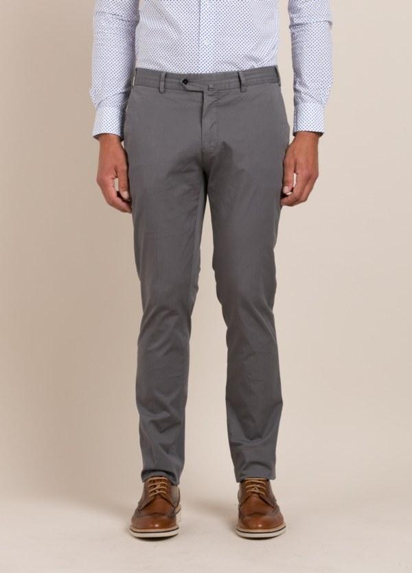 Pantalón chino FUREST COLECCIÓN Slim Fit gris