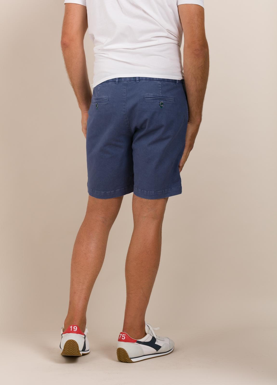Bermuda modelo THOMAS color azul tinta, 100% Algodón. - Ítem4