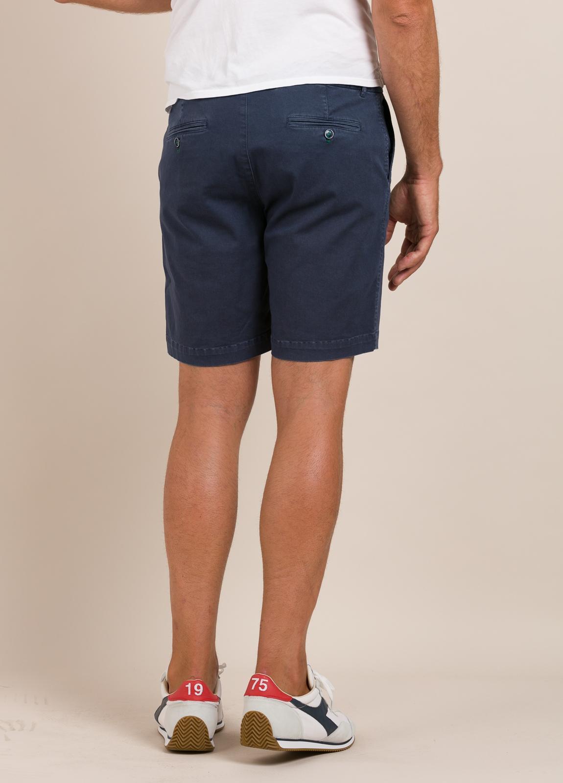 Bermuda modelo THOMAS color azul marino, 100% Algodón. - Ítem5