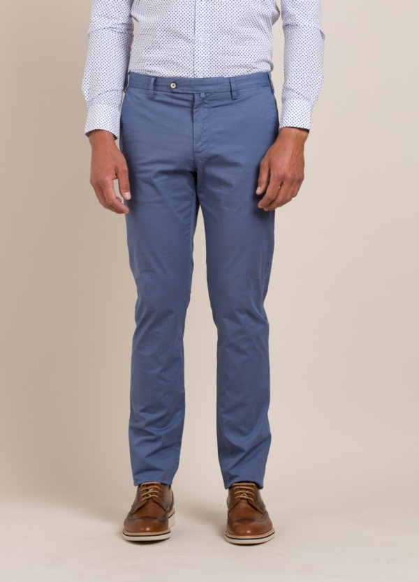 Pantalón Sport FUREST COLECCIÓN Slim Fit azul
