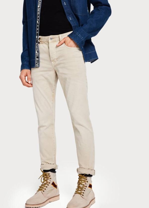 Pantalón SCOTCH & SODA color crudo
