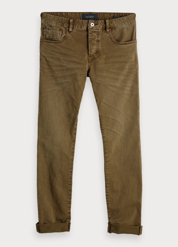 Pantalón SCOTCH & SODA Fit kaki
