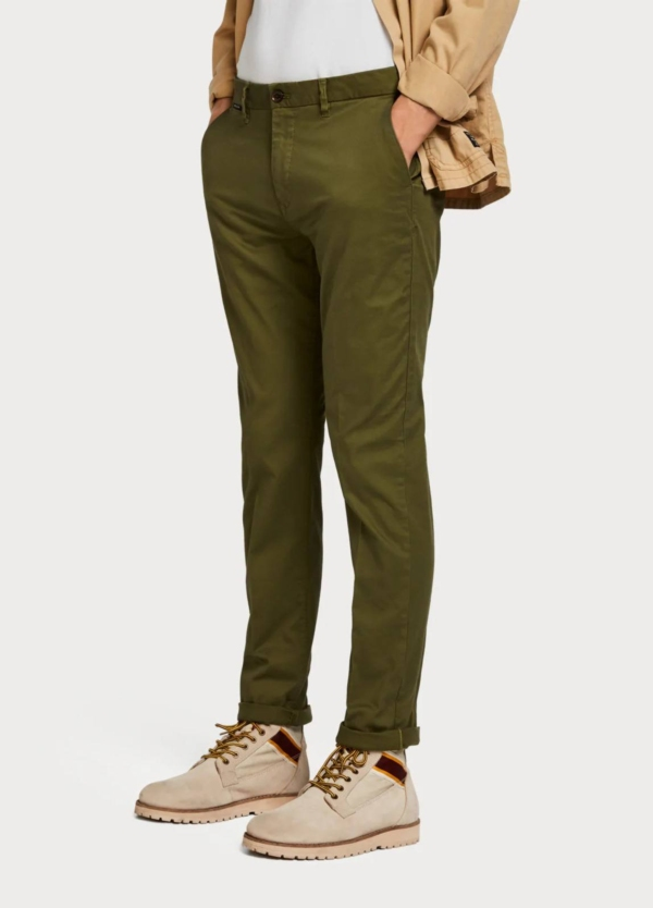 Pantalón chino SCOTCH & SODA kaki