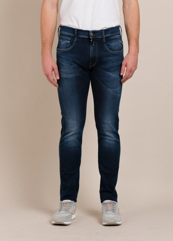Pantalón tejano REPLAY SLIM azul