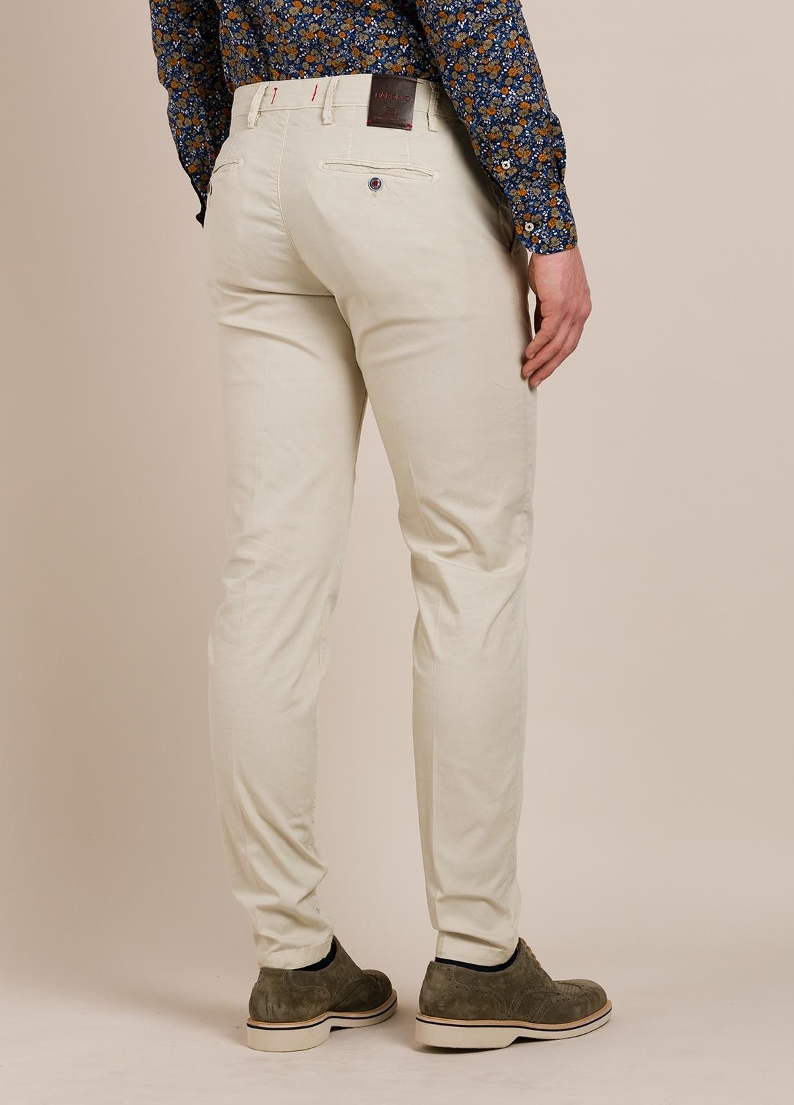 Pantalón chino BARONIO beige - Ítem2