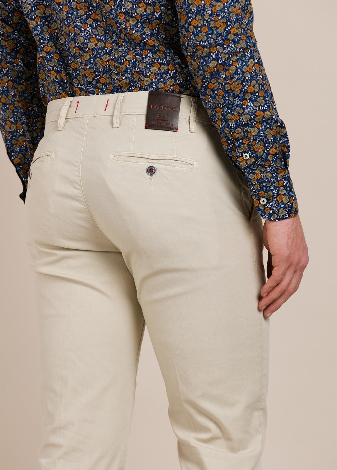 Pantalón chino BARONIO beige - Ítem3
