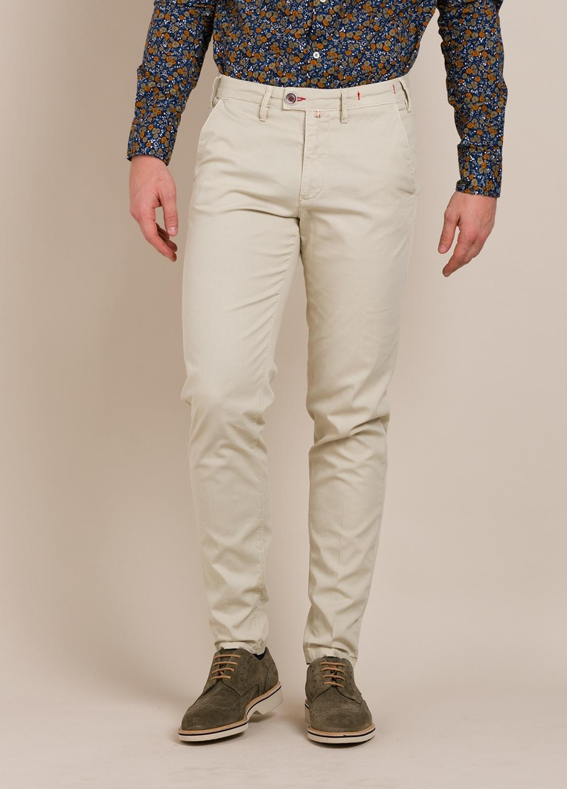 Pantalón chino BARONIO beige