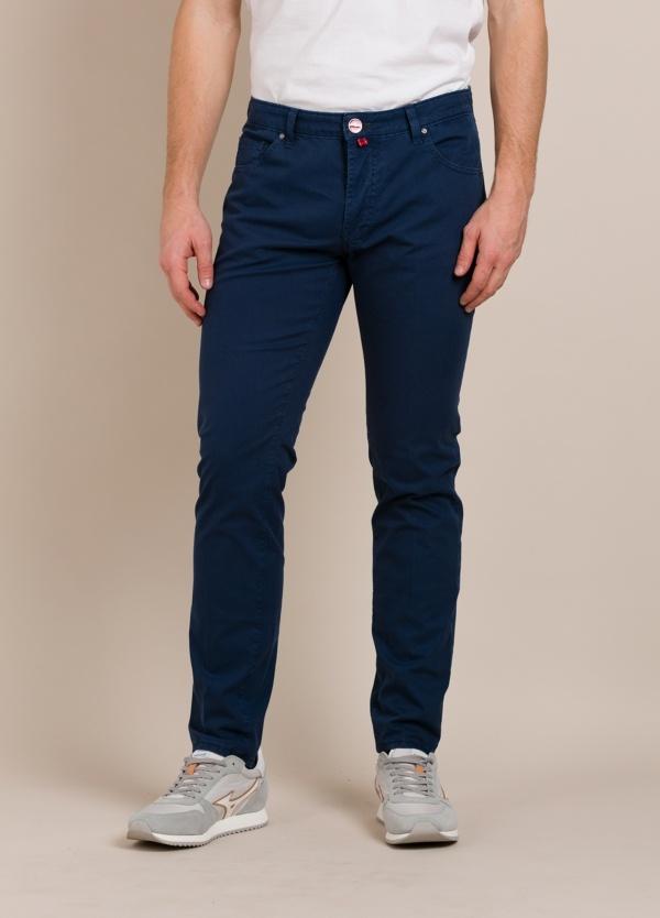 Pantalón chino BARONIO azul tinta