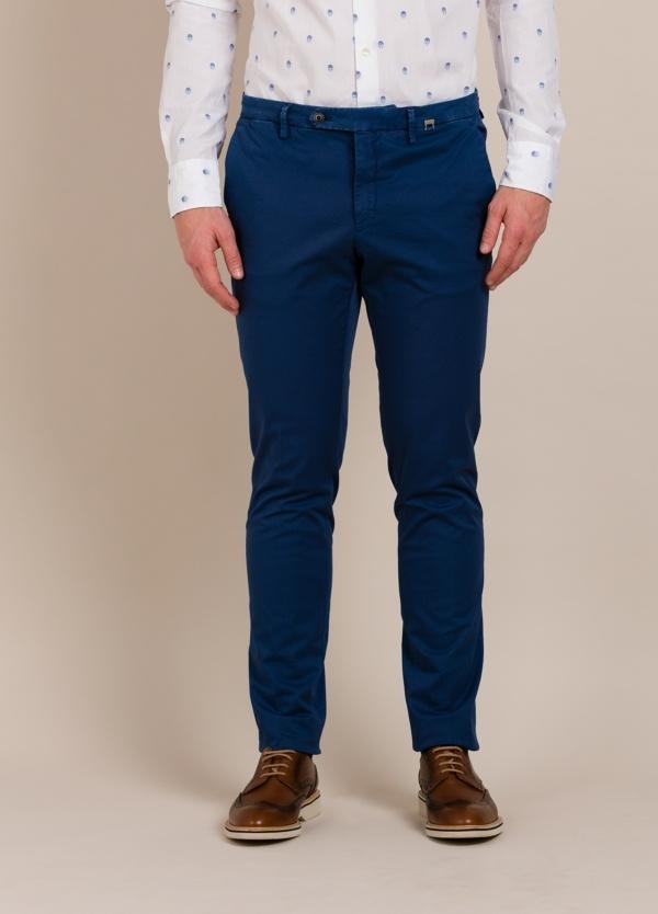 Pantalón chino PAOLONI azul tinta
