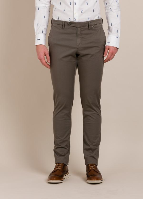 Pantalón chino PAOLONI color topo