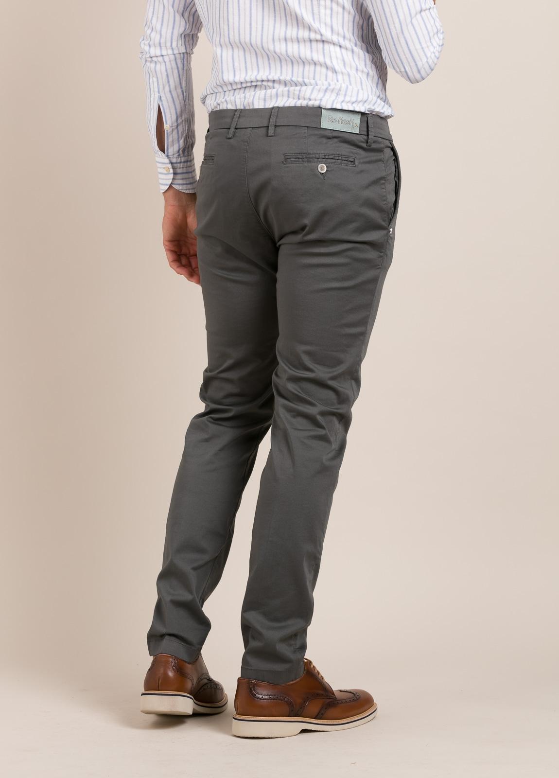 Pantalón sport RE-HASH slim fit gris - Ítem1
