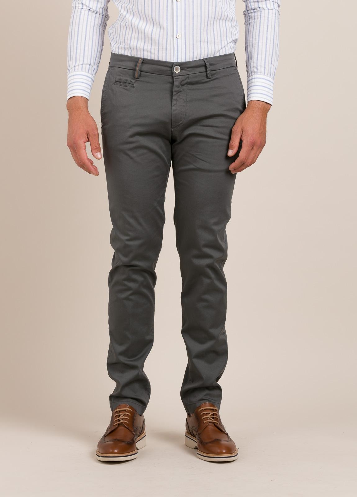 Pantalón sport RE-HASH slim fit gris