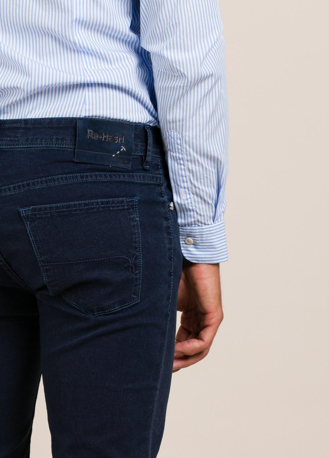 Pantalón sport RE-HASH slim fit marino - Ítem2