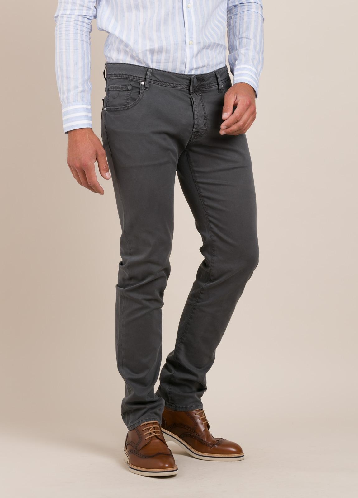Pantalón tejano JACOB COHEN gris oscuro