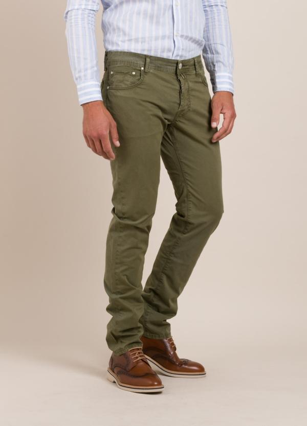 Pantalón 5 bolsillos JACOB COHEN kaki