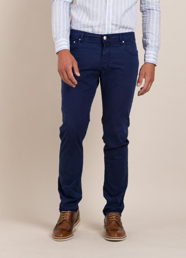 Pantalón 5 bolsillos JACOB COHEN azul marino.