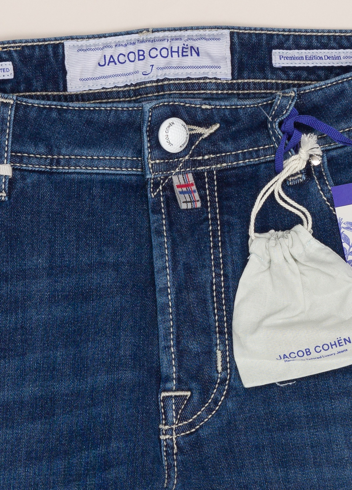 Pantalón tejano JACOB COHEN azul oscuro - Ítem2
