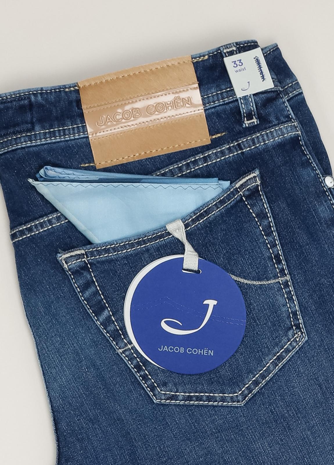 Pantalón tejano JACOB COHEN azul oscuro - Ítem3