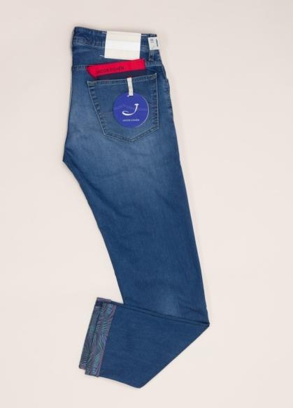 Pantalón tejano JACOB COHEN azul denim - Ítem4