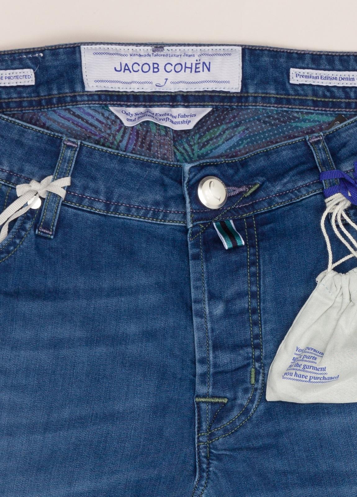 Pantalón tejano JACOB COHEN azul denim - Ítem1