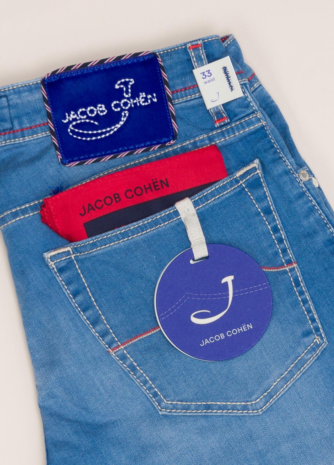 Pantalón tejano JACOB COHEN azul medio - Ítem2