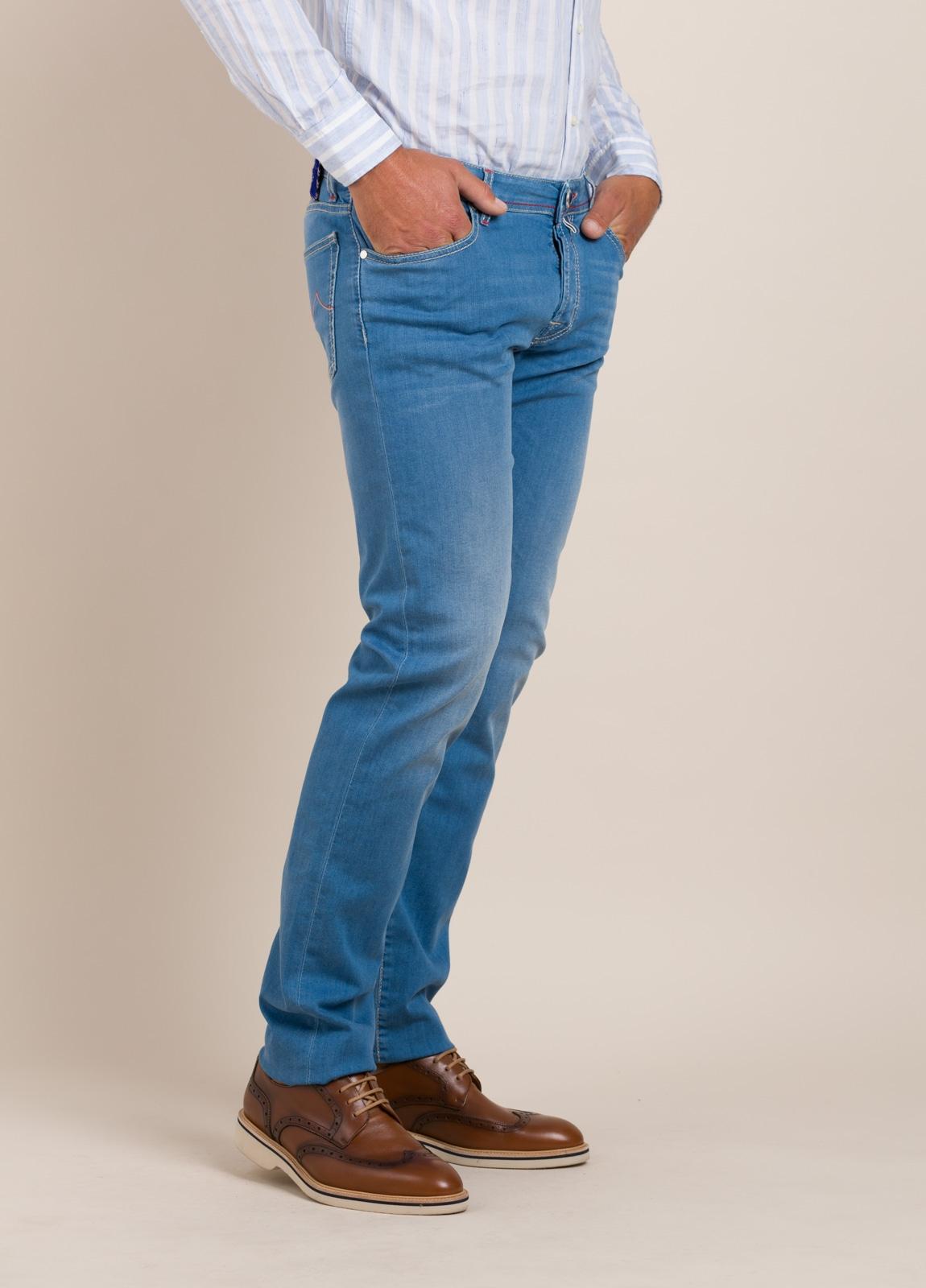 Pantalón tejano JACOB COHEN azul medio - Ítem6