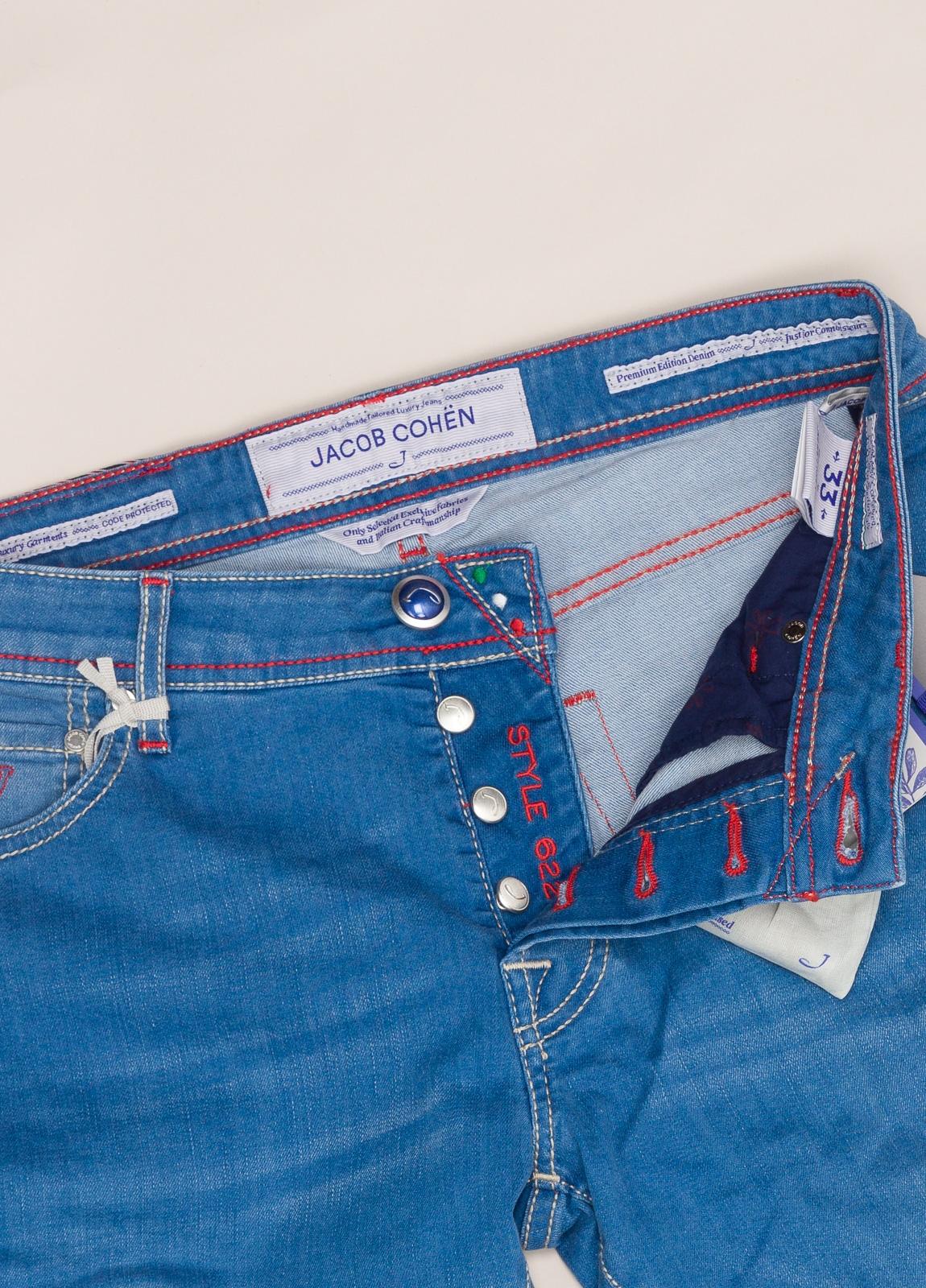 Pantalón tejano JACOB COHEN azul medio - Ítem3