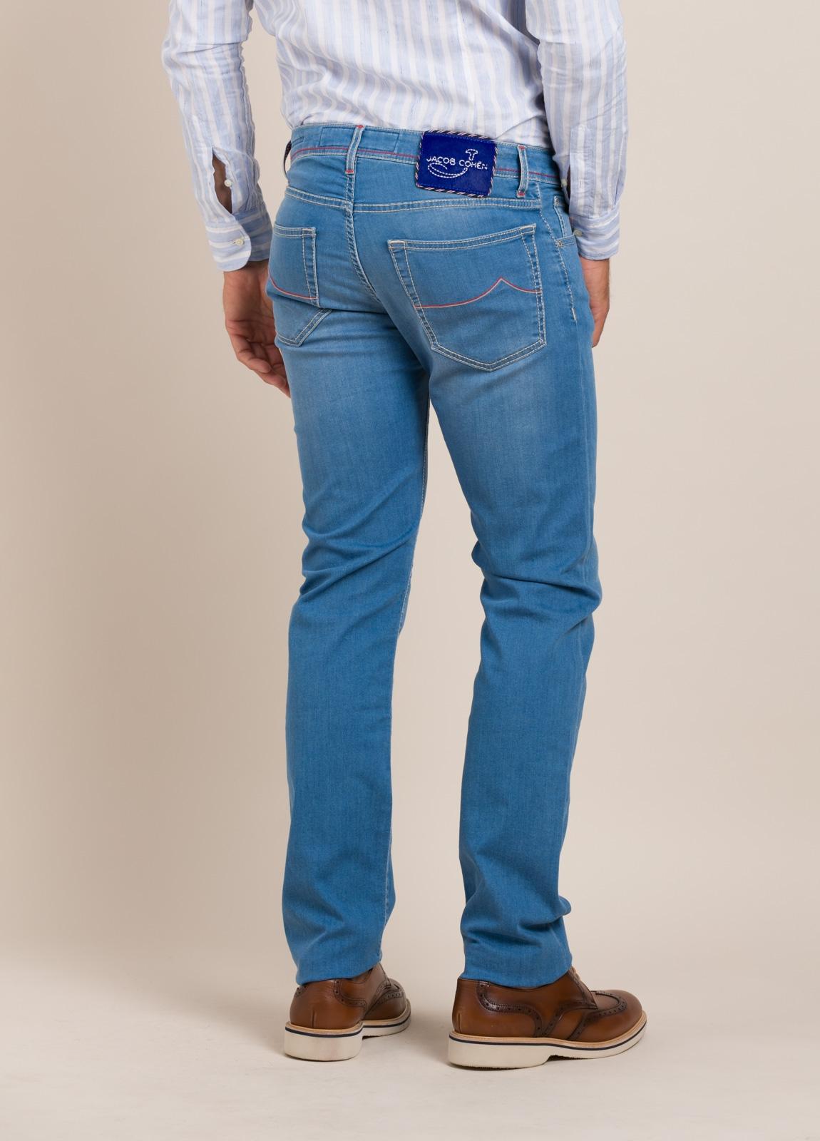 Pantalón tejano JACOB COHEN azul medio - Ítem7