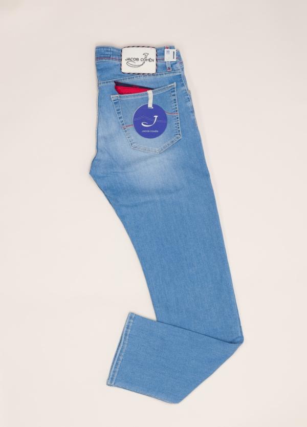 Pantalón tejano JACOB COHEN azul lavado