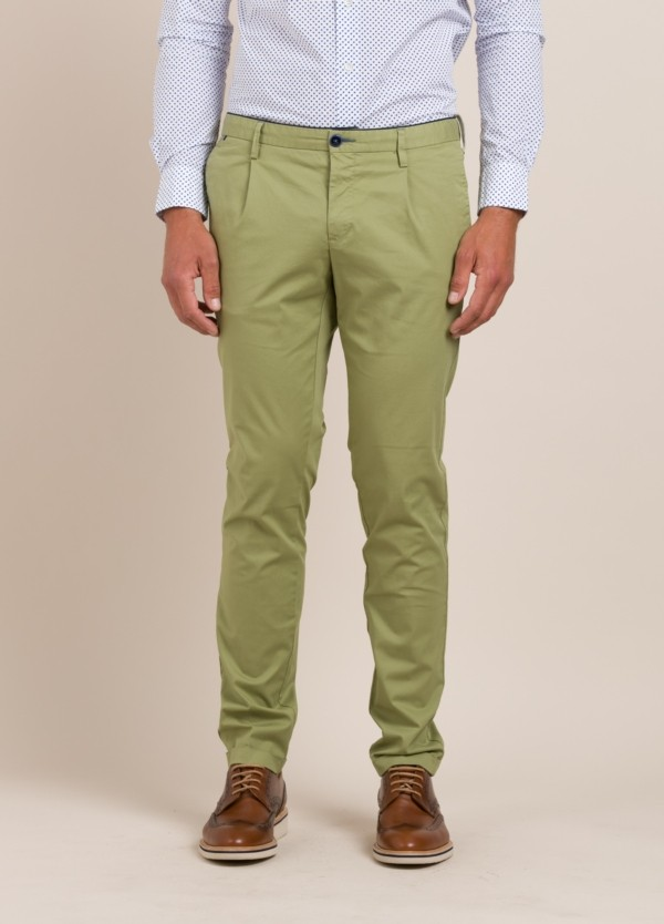 Pantalón chino AT.P.CO beige